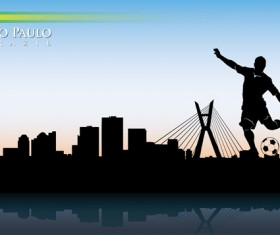 Famous cities silhouette creative vector 10