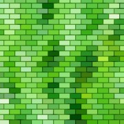 Link toGreen brick wall texture background vector