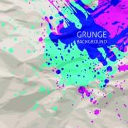 Link toGrunge watercolor background vector design 04