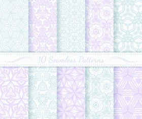 Light colored seamless pattern creative graphics vector 02