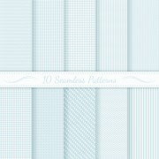 Link toLight colored seamless pattern creative graphics vector 05