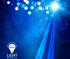 Light dot and light vector background 01