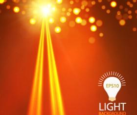Light dot and light vector background 02
