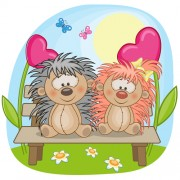 Link toLovers lovely animals vector set 04