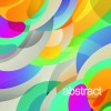 Multicolor elements abstract vector background