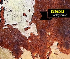 Old wall grunge background vector set 01