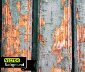 Old wall grunge background vector set 02