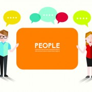 Link toPeople and social vector design 02