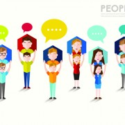 Link toPeople and social vector design 06
