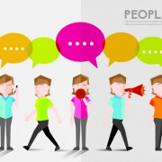 Link toPeople and social vector design 10