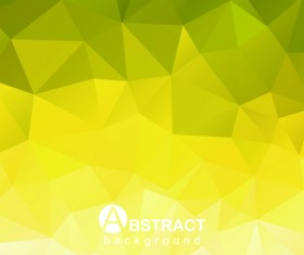 Polygon embossment effect background vector 01