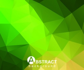 Polygon embossment effect background vector 02
