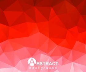 Polygon embossment effect background vector 03