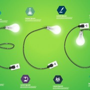 Link toPower supply with light bulb creative business template 10