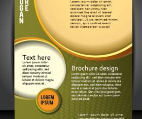Presentation of creative magazine cover vector 01