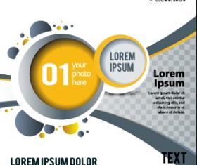 Presentation of creative magazine cover vector 04