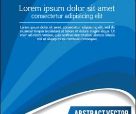 Presentation of creative magazine cover vector 07