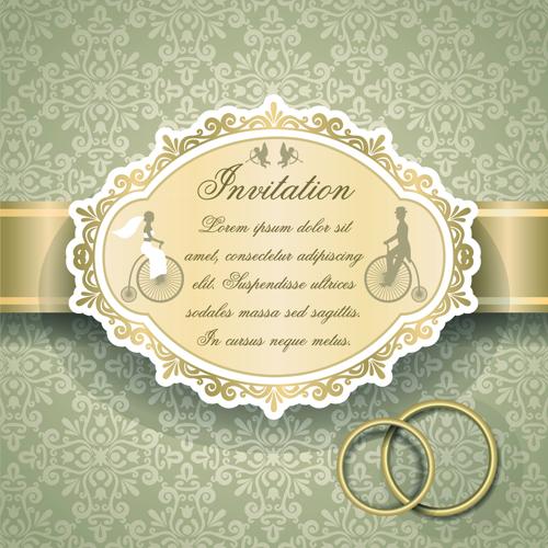Qrnate floral pattern wedding invitations vector 03 vector card qrnate floral pattern wedding invitations vector 03 stopboris Choice Image
