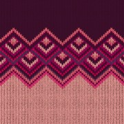 Realistic knitted fabric pattern vector material 02