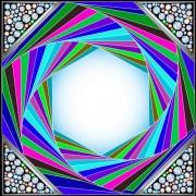 Link toShiny diamonds frame vector background art 04