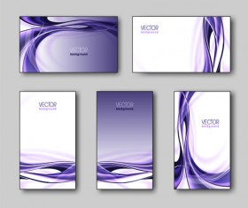 Shiny gifts cards creative vector set 01