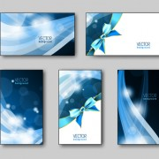 Link toShiny gifts cards creative vector set 04
