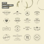 Link toSimple badges and labels elements design vector 05
