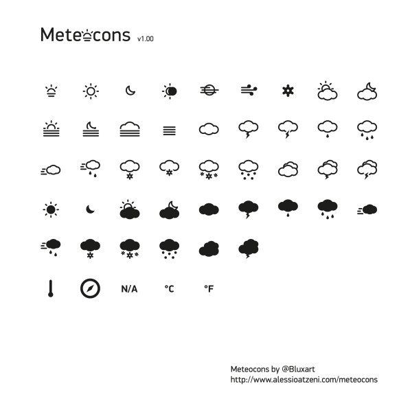 Simple Weather Icons Design Over Millions Vectors Stock