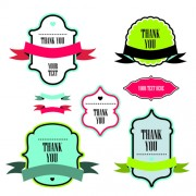 Link toText frame labels with ribbon vector 01