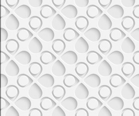 Vector seamless pattern perforated vector 04
