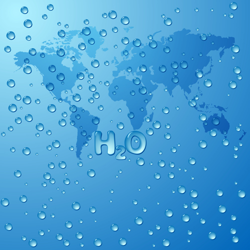 Water drops and world map vecror background free download water drops and world map vecror background gumiabroncs Gallery