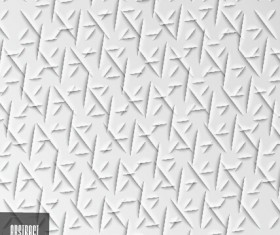 White abstract pattern texture vector 02