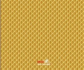 Yellow checkered textures vector background