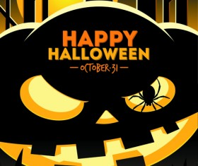 2014 halloween art background vector 01