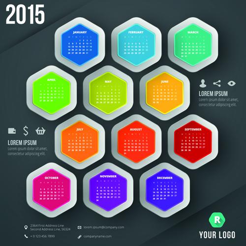 Calendar Dates 2015 2015 Business Calendar