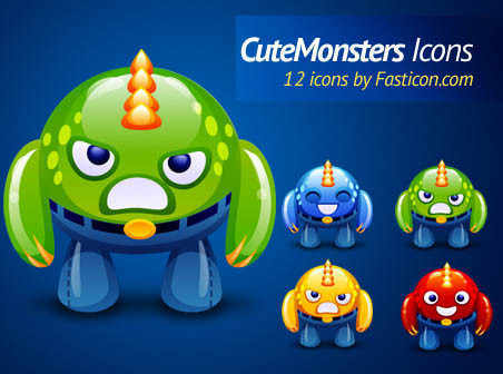 Cute Monsters icons