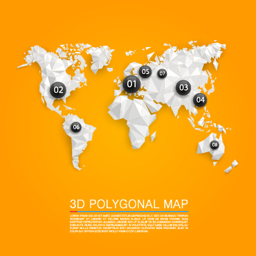 3d polygonal map vector material free download 3d polygonal map vector material gumiabroncs Gallery