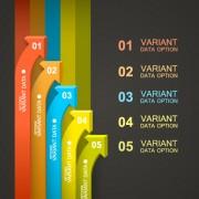 Link toArrow infographics template vector 01