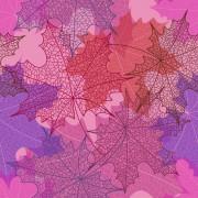 Link toBeautiful autumn leaves vector seamless pattern 05