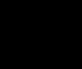Black halloween frame with bats vector