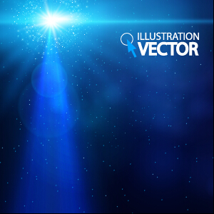 Blue light vector background illustration 02