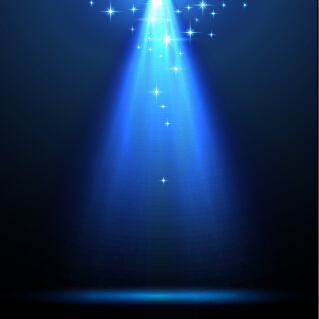 Blue light vector background illustration 04