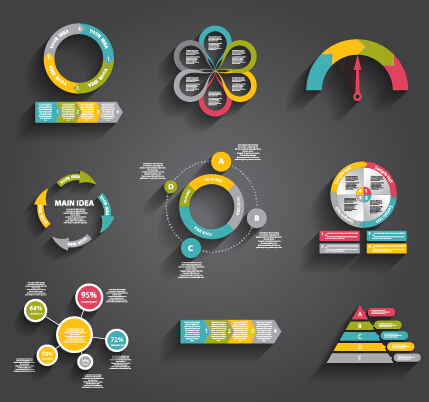 Business Infographic creative design 2108