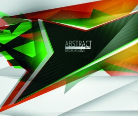 Colorful geometry concept vector background 04