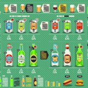 Link toCreative drinks elements infographics vector 03