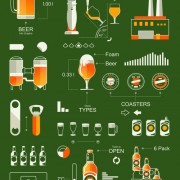 Link toCreative drinks elements infographics vector 05