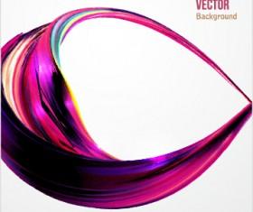Dynamic wavy gloss background vector 02
