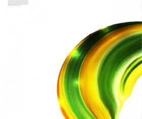 Dynamic wavy gloss background vector 03
