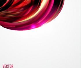 Dynamic wavy gloss background vector 05