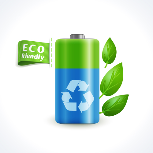 Eco friendly logos creative vector design 03